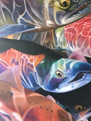 Slider art fall 2016 salmon