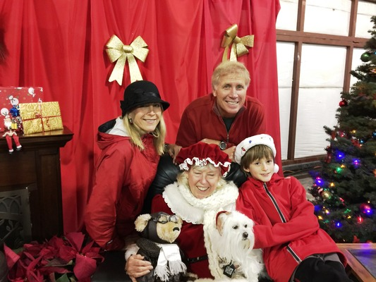 Slider santa fly in 2016 rob lober and family