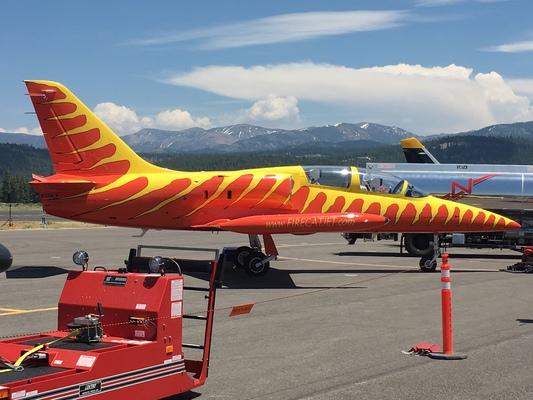 Slider airshow firecat fuel truck