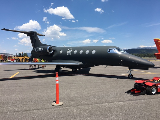 Slider airshow phenom 300 black ops