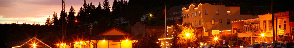 Hero truckee at night