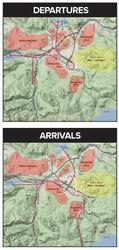 Medium dep arr maps