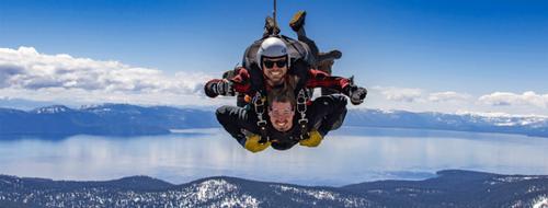Large skydivetruckee