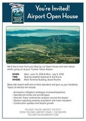 Medium open house summer 2018 flyer