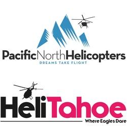 Medium helitahoe pacific north logo