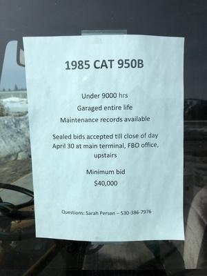 Slider cat 950b 3