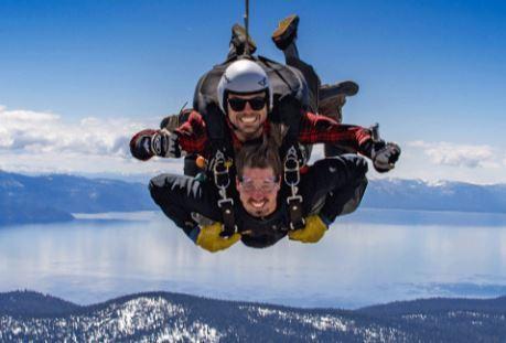 Slider skydive campaign monitor